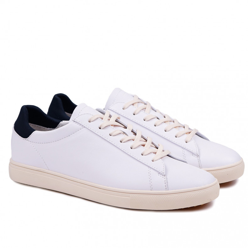 Кеды CLAE Bradley White Leather