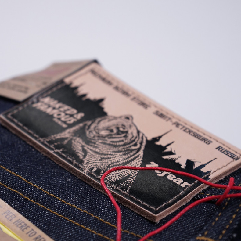 Джинсы Naked and Famous x Zefear store Weird Guy 14.5 Selvedge