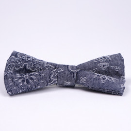 Бабочка Naked and Famous chambray flower
