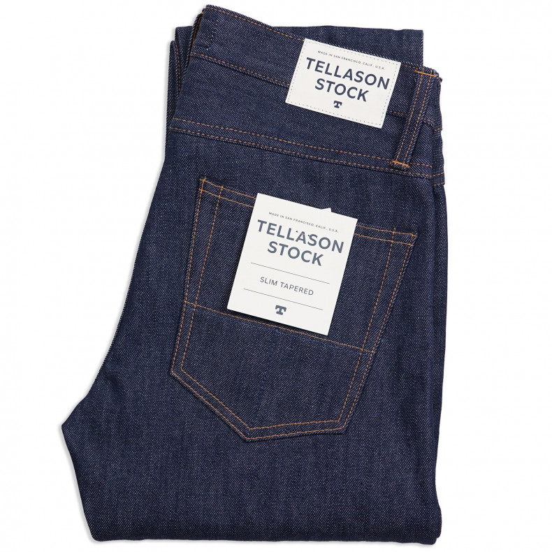 Джинсы Tellason Stock Slim Tapered Fit