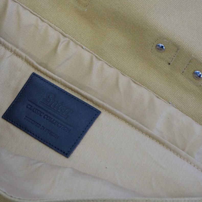 Сумка Enter Brief Classic Khaki/dark brown