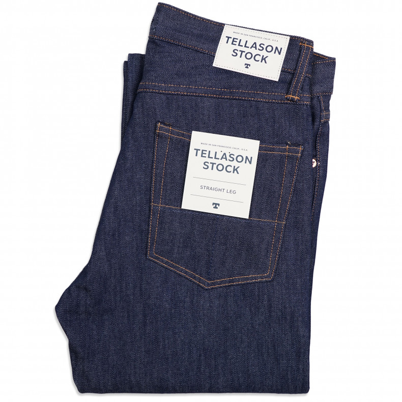Джинсы Tellason Stock Straight Leg Fit
