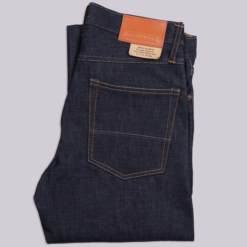Джинсы TELLASON Sheffield Straight Tapered Selvedge 14.75 Oz