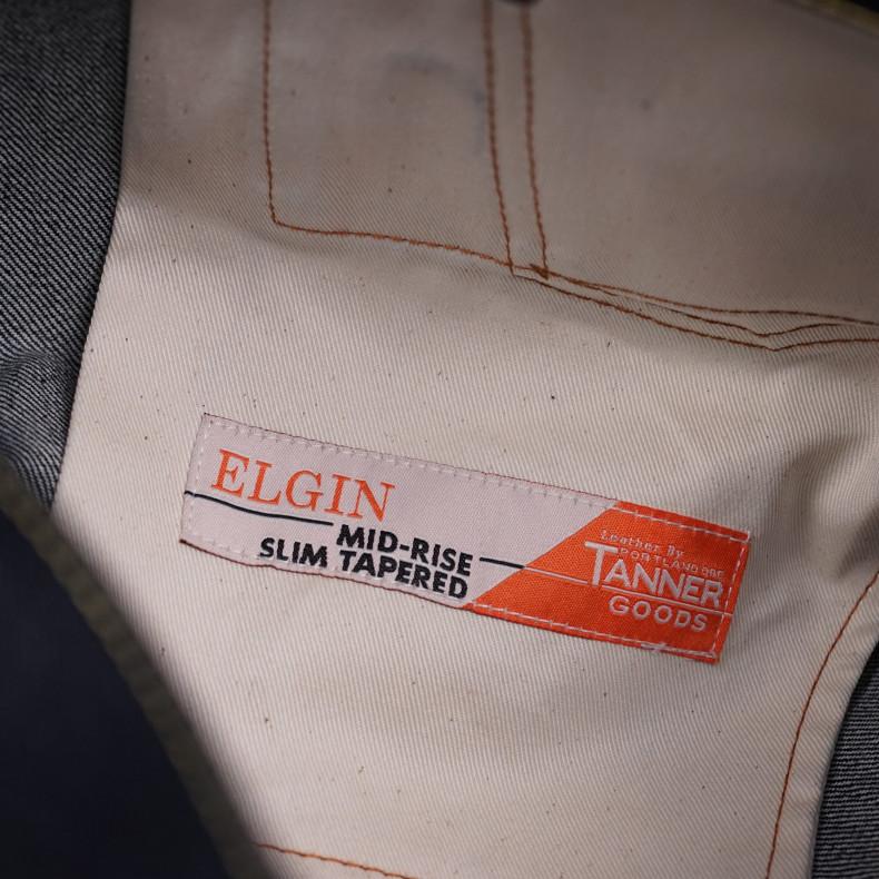 Джинсы TELLASON Elgin Mid Rise Slim Tapered Selvedge 16.5 Oz