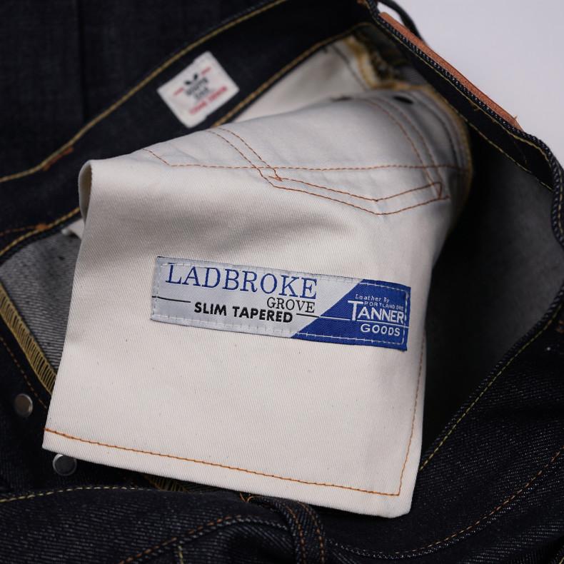 Джинсы TELLASON Ladbroke Grove Slim Tapered Selvedge 14.75 Oz