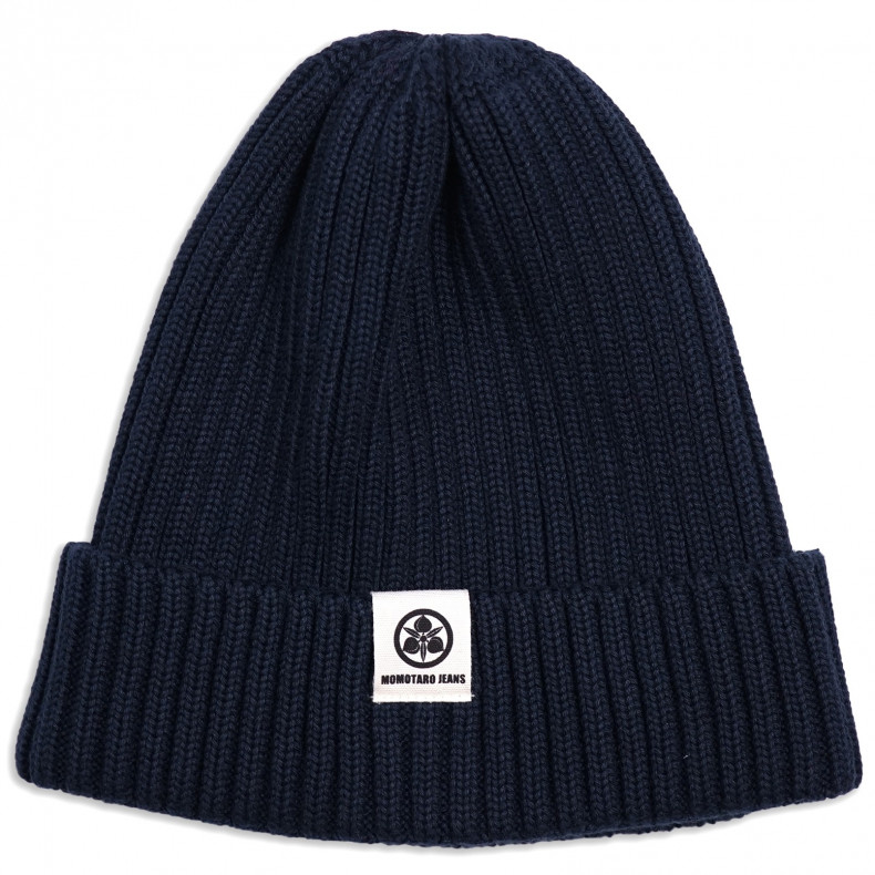 Шапка Momotaro Original Cotton Knit Naval Watch Hat Navy