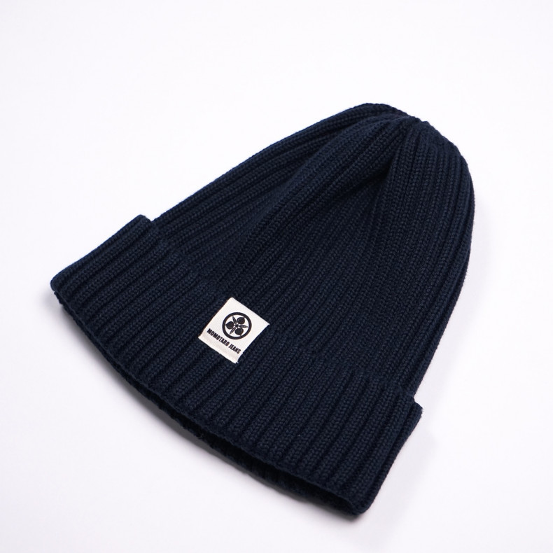 Шапка Momotaro Original Cotton Knit Naval Watch Hat Navy