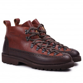 Ботинки Fracap M130 Scarponcino Brown Dark Brown / Vibram Roccia Brown