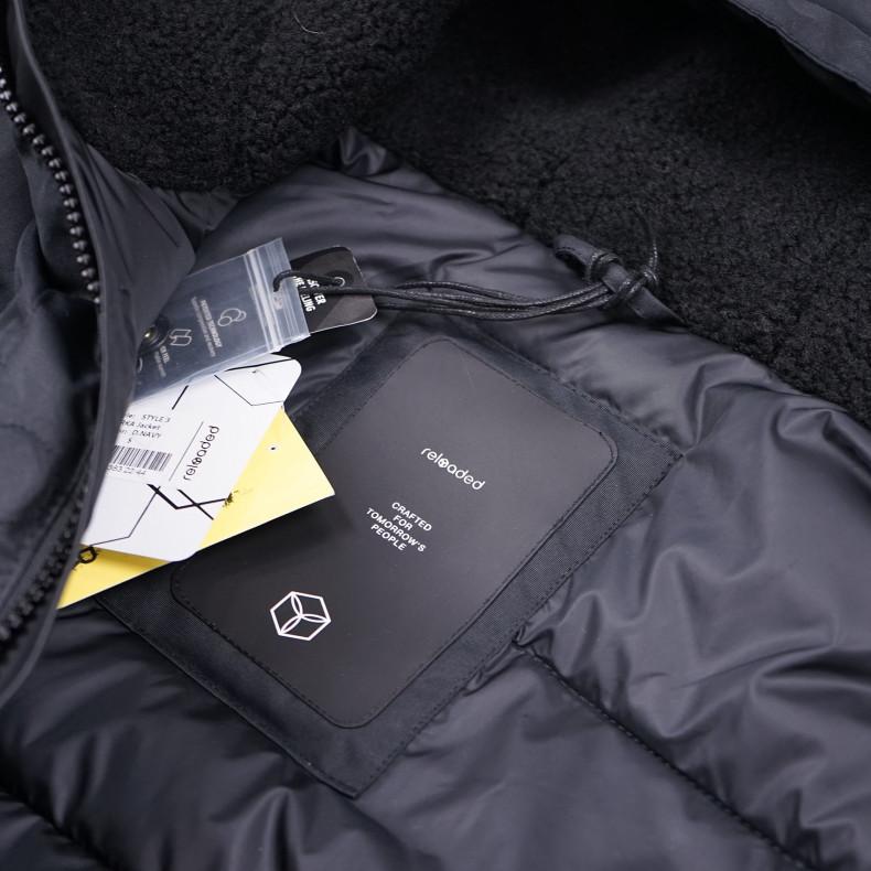 Зимняя куртка Reloaded Style №3 D.Navy