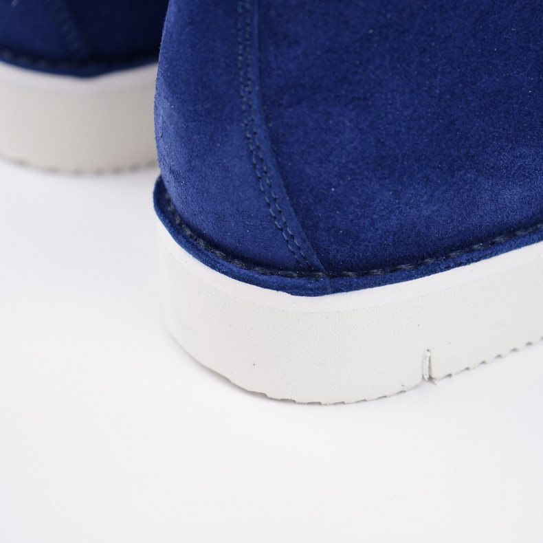 Женские Ботинки Fracap M120 Scarponcino Celestine Blue / Vibram Cut White