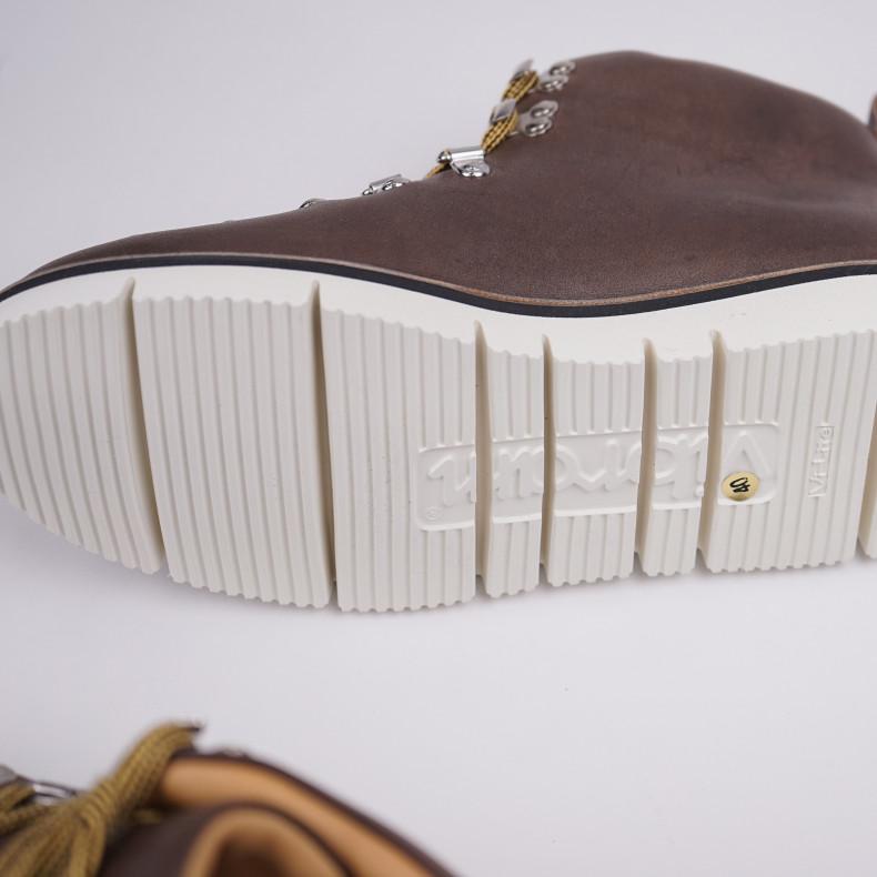 Ботинки Fracap M120 Scarponcino Grey / Vibram Cut White
