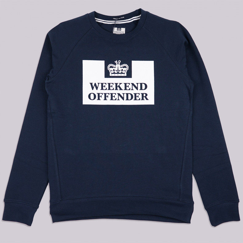Толстовка Weekend Offender Penitentiary Classic navy