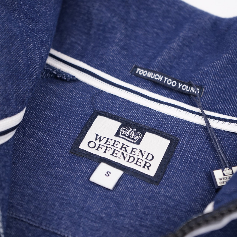 Толстовка Weekend Offender Grier French Navy