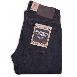 Джинсы Naked and Famous Weird Guy Deep Indigo Selvedge 15 Oz