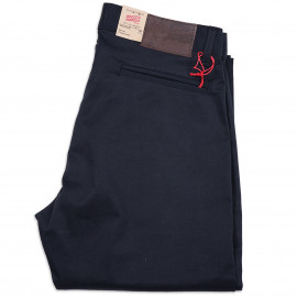 Брюки Naked and Famous Slim Chino Stretch Twill Navy