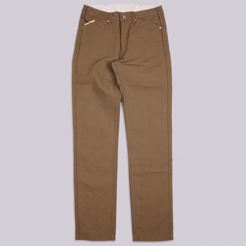 Брюки Momotaro Jeans 01-040 KB Vintage Oxford Khaki