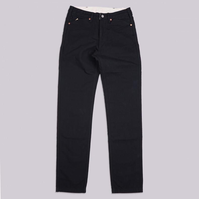 Брюки Momotaro Jeans 01-040 Black Vintage Oxford