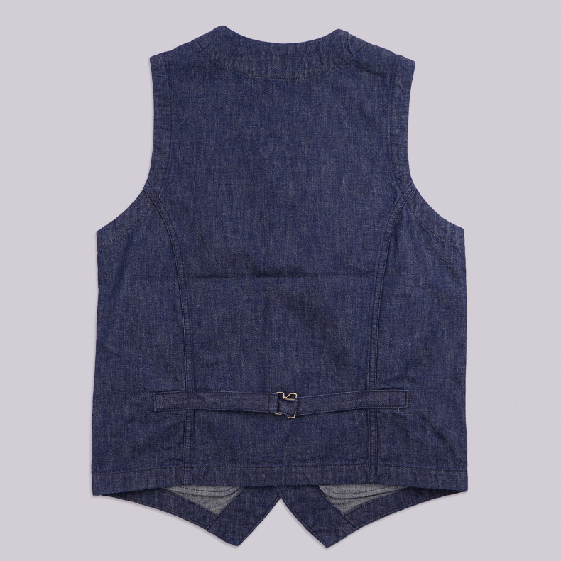 Жилет Japan Blue Jeans Urban Vest 10.5oz PW Zimbabwe Cotton Denim