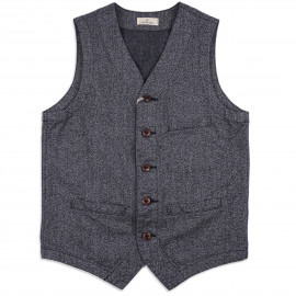 Жилет Japan Blue Jeans Urban Vest 10oz Covert Twill