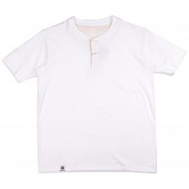 Футболка Momotaro Jeans 07-038 Henley T-shirt White