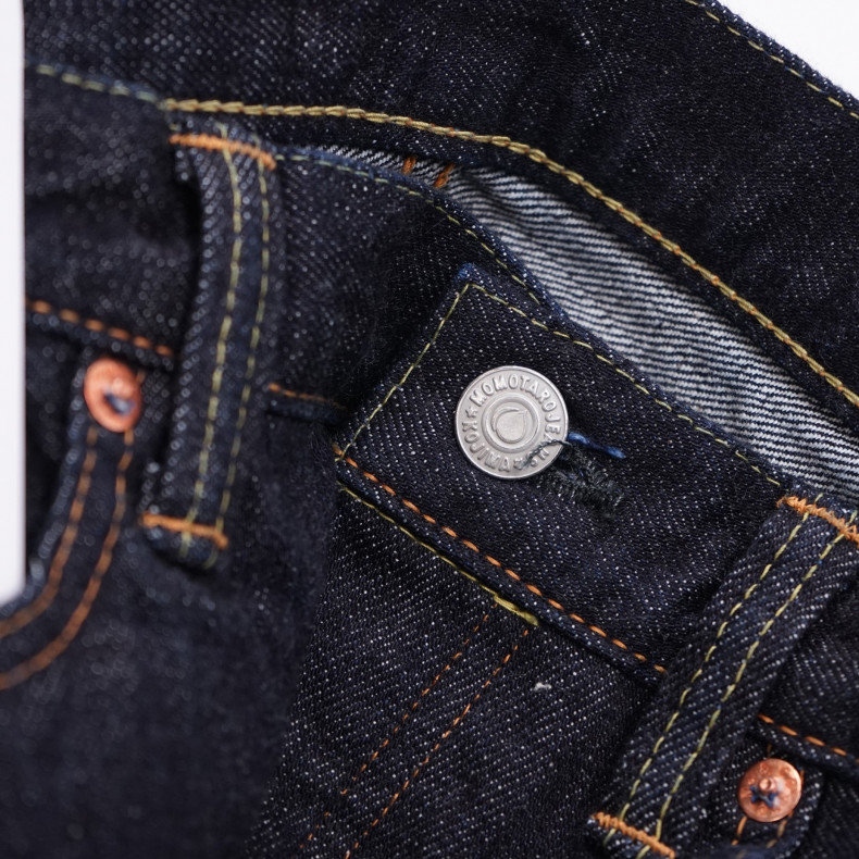 Джинсы Momotaro Jeans 1005SP Zimbabwe Cotton Selvedge 15.7 Oz One Wash