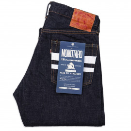 Джинсы Momotaro Jeans 0205-SP Slim Straight Going to Battle One Wash