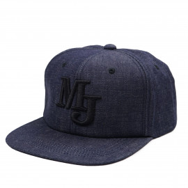 Кепка Momotaro Jeans Snapback SJ014 Denim Indigo