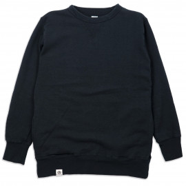 Толстовка Momotaro Jeans 07-043 Hanging Knitted V gazette Side Pocket Sweatshirt Black