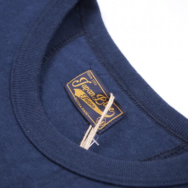 Футболка Japan Blue Jeans JBT001 7.7oz Côte d'Ivoire Cotton Navy