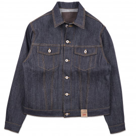 Джинсовая Куртка Naked and Famous Denim Jacket - Left Hand Twil Selvedge 13.75 Oz