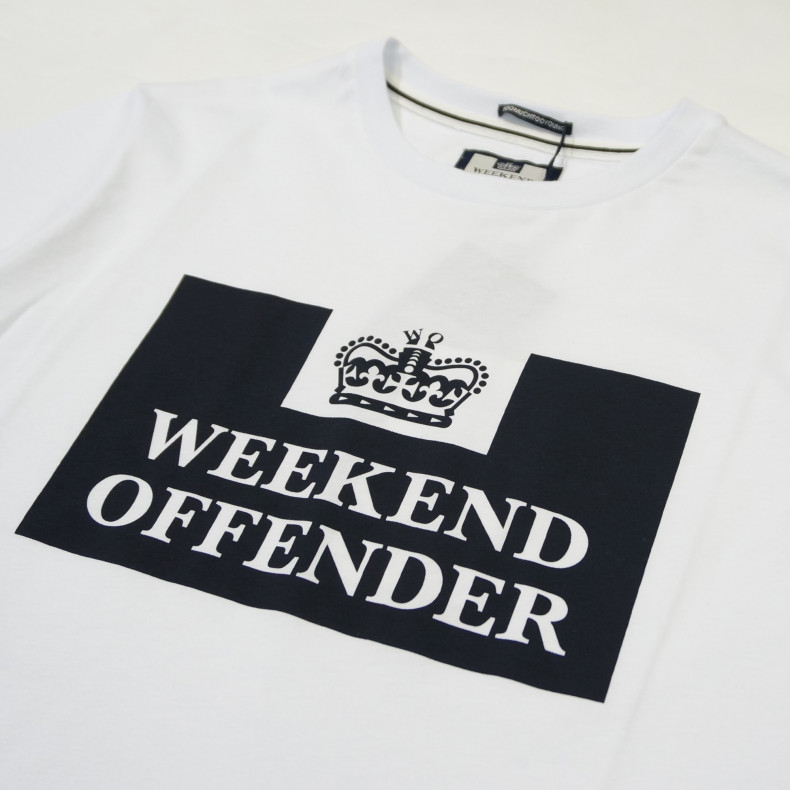 Футболка Weekend Offender Prison white