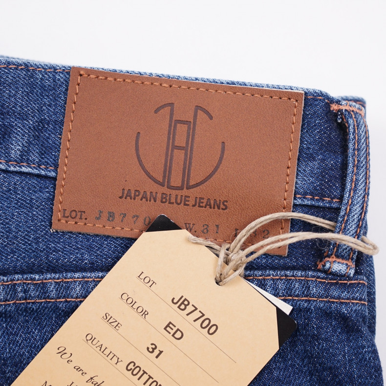 Джинсы Japan Blue Jeans JB7700(ED) Regular Eddy 13.5oz Côte d'lvoire Cotton Vintage Selvage