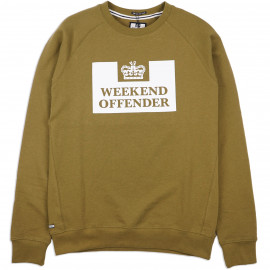 Толстовка Weekend Offender Penitentiary Olive
