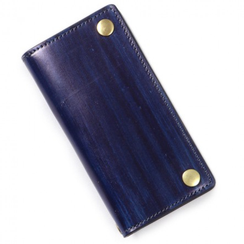 Кошелек Japan Blue Jeans JBAC007(ID) Leather Trackers Wallet Indigo