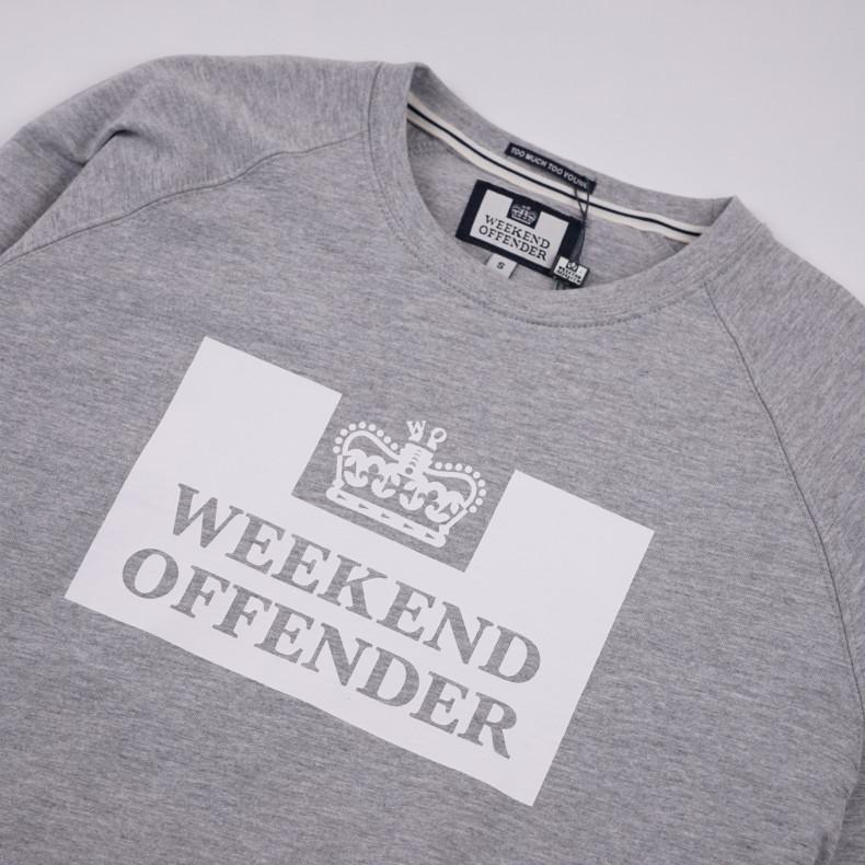 Толстовка Weekend Offender Penitentiary Classic greymarl