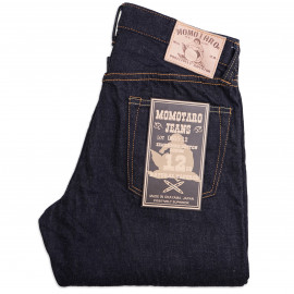 Джинсы Momotaro Jeans 0605-12 Natural Tapered Zimbabwe Cotton Selvedge - One Wash