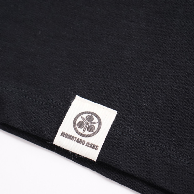 футболка Momotaro Jeans 07-053 Zimbabwe Cotton Black
