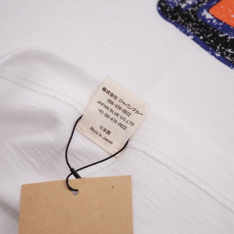 Футболка Momotaro Jeans 07-062 Zimbabwe Cotton White