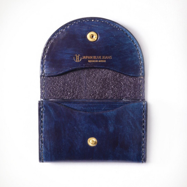 Кардхолдер Japan Blue Jeans JBAC002(ID) Leather Coin Case Indigo