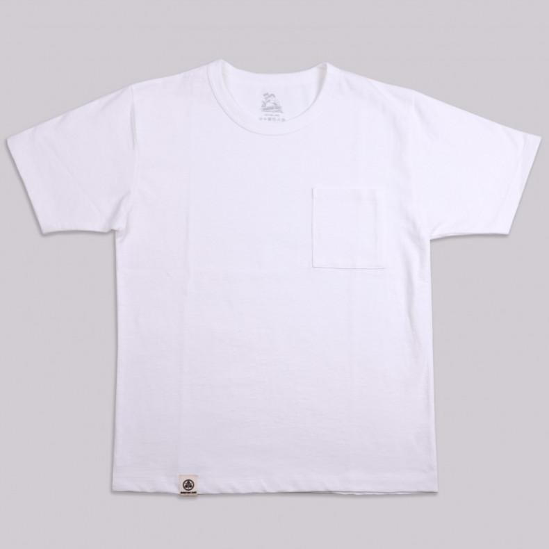 Футболка Momotaro Jeans 07-049 Zimbabwe Cotton Pocket T-Shirt White