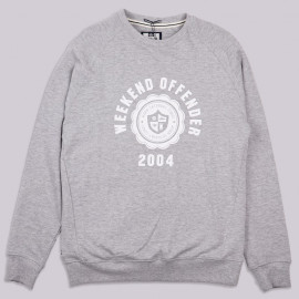 Толстовка Weekend Offender Campus Sweat Grey Marl