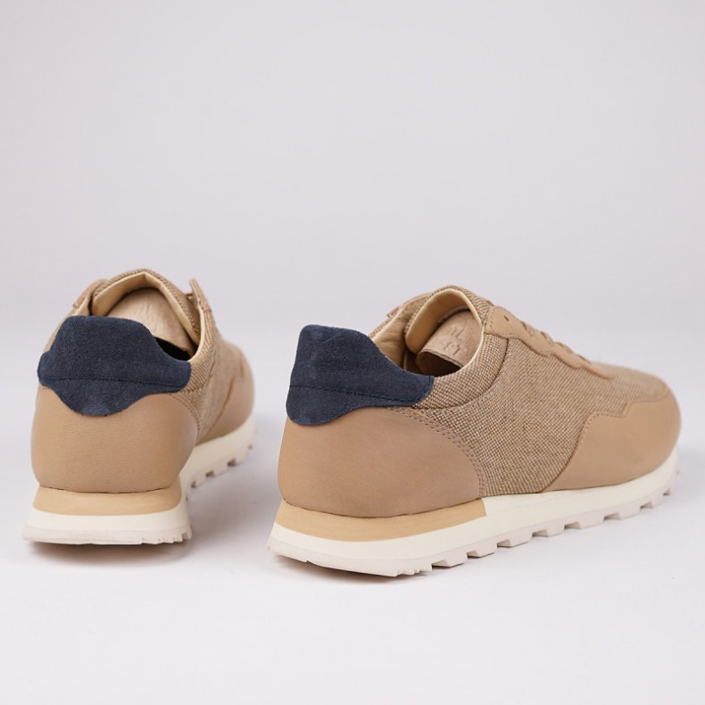 Кеды CLAE Hoffman Premium Natural Hemp Oyster Tan Leather