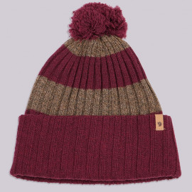 Шапка Fjallraven Byron Pom Hat 356 Dark Garnet