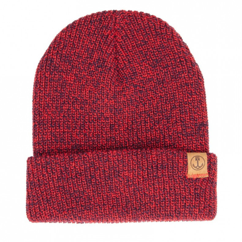 Шапка Iron and Resin Marksman Beanie Navy Red Marl