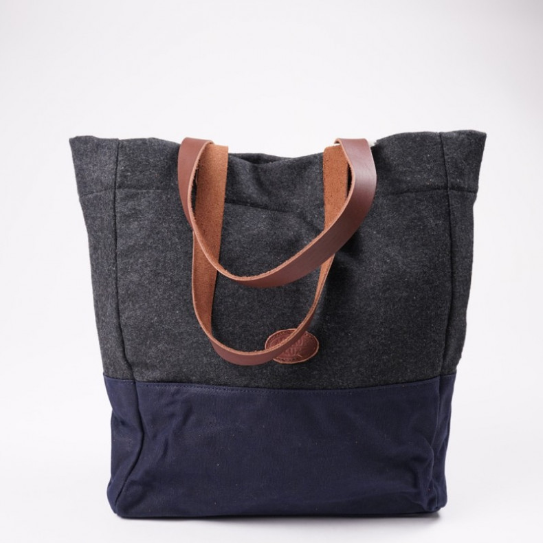 Сумка Armour-Lux Tote bag Navy / Grey