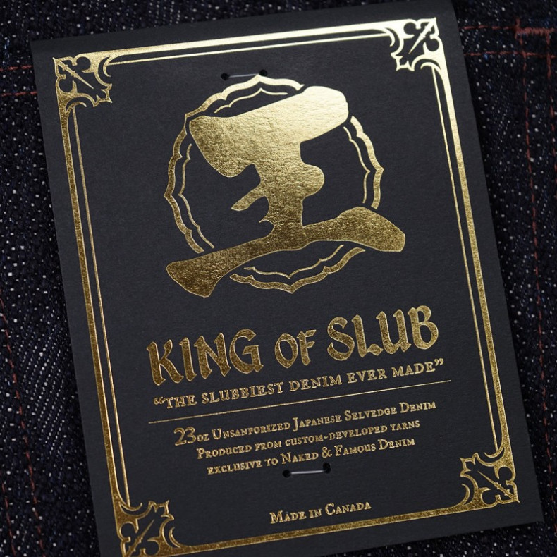 Джинсы Naked and Famous Super Guy - King Of Slub 23 oz Slubby Selvedge