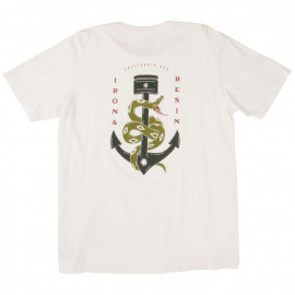 Футболка Iron and Resin Anchor Snake Pocket Tee Natural