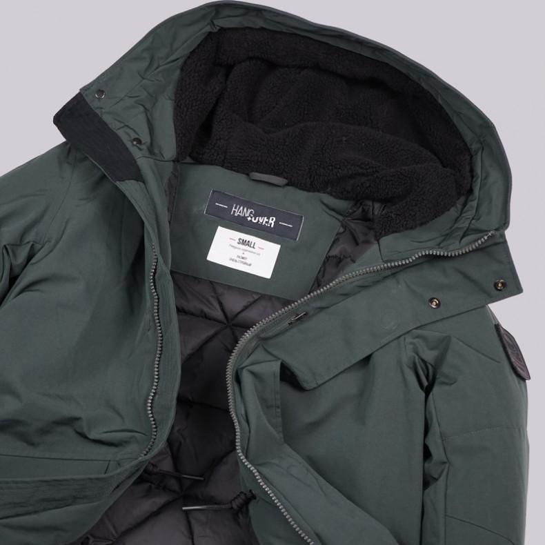 Зимняя Куртка Hangover ST4-18 Faster Dark Green