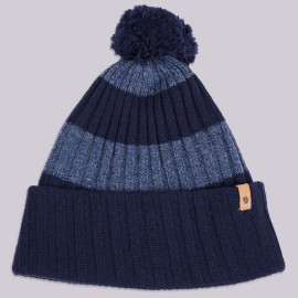 Шапка Fjallraven Byron Pom Hat 555 Dark Navy