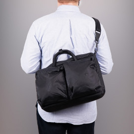 Сумка-рюкзак Stighlorgan Solomon hybrid backpack x messenger bag - Black